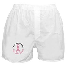 Pink Ribbon For My Mom 4 Boxer Shorts