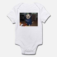 Yellow Dogs for Obama Infant Bodysuit