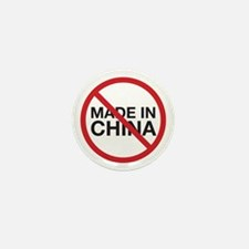 Not Made in China Mini Button