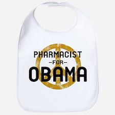 Pharmacist for Obama Bib