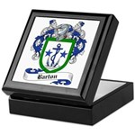 Barton Family Crest Keepsake Box