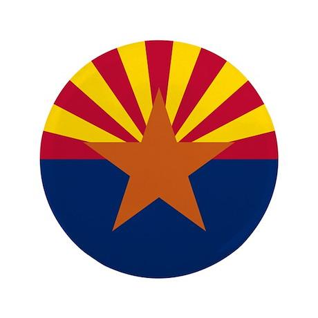 """Arizona Flag 3.5"""" Button"""