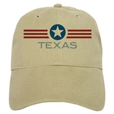 Star Stripes Texas Baseball Cap