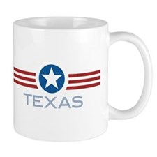 Star Stripes Texas Mug
