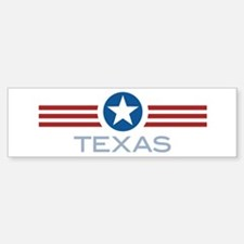 Star Stripes Texas Bumper Bumper Bumper Sticker