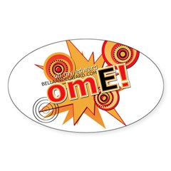 OME! Oval Decal