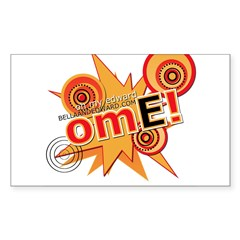OME! Rectangle Decal