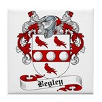 Begley Family Crest Tile Coaster