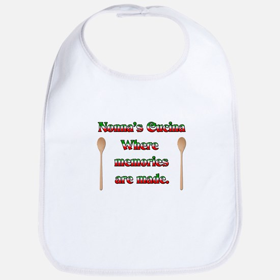 Nonna's (Italian Grandmother) Cucina Bib