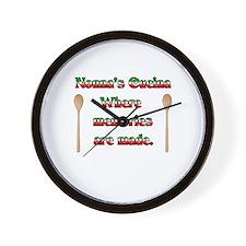 Nonna's (Italian Grandmother) Cucina Wall Clock