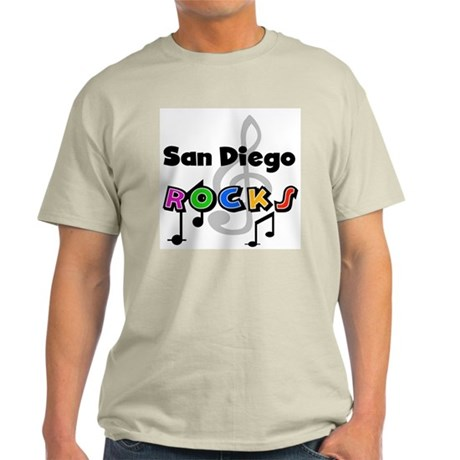 San Diego Rocks Light T-Shirt