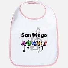 San Diego Rocks Bib