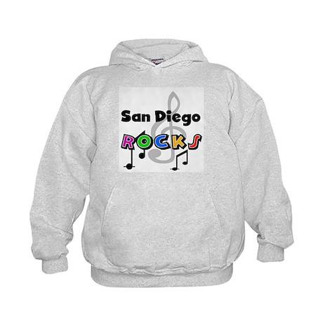 San Diego Rocks Kids Hoodie