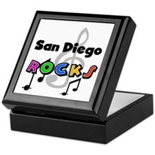 San Diego Rocks Keepsake Box