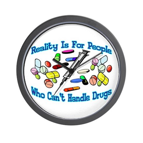 Reality Is For People Wall Clock