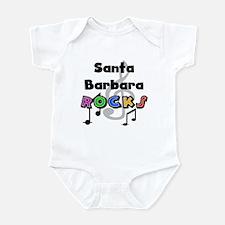 Santa Barbara Rocks Infant Bodysuit