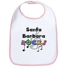 Santa Barbara Rocks Bib