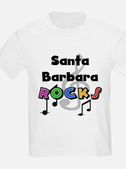 Santa Barbara Rocks T-Shirt