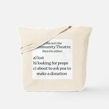 I'm Lost Tote Bag