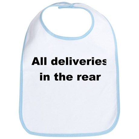 Deliveries in the rear Bib
