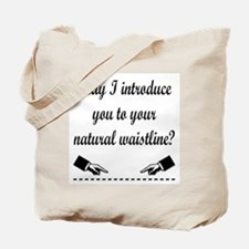 Natural Waistline Tote Bag