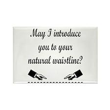 Natural Waistline Rectangle Magnet