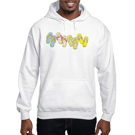 Flip Flop Row Hooded Sweatshirt