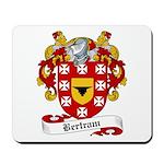 Bertram Family Crest Mousepad