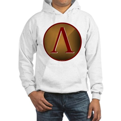 Spartan Shield w/ Lambda Hooded Sweatshirt