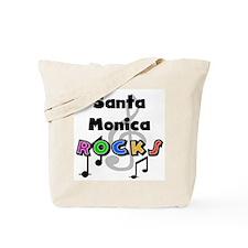 Santa Monica Rocks Tote Bag