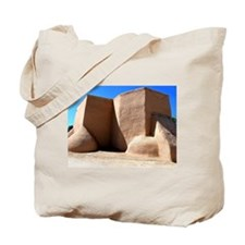 The Old Adobe Church Tote Bag