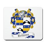 Bethune Family Crest Mousepad