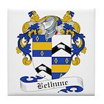 Bethune Family Crest Tile Coaster
