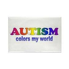 Autism Support Rectangle Magnet