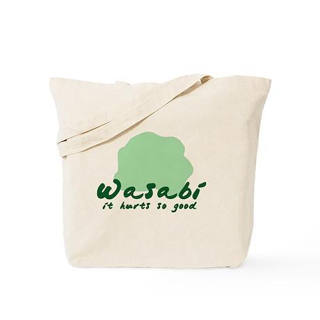 Wasabi shirt Tote Bag