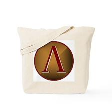 Spartan Shield w/ Lambda Tote Bag