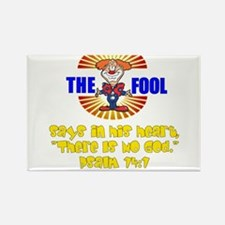 The Fool Rectangle Magnet