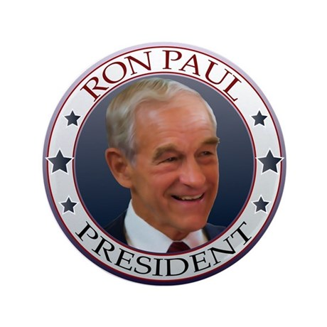 "Ron Paul 3.5"" Button"