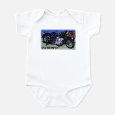 I Only Ride American Infant Bodysuit