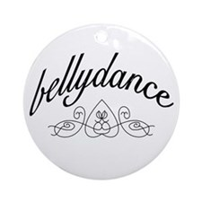 Bellydance (turkish heart des Keepsake (Round)