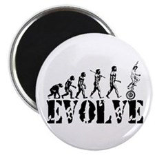Unicycle Unicycling Unicyclist Magnet