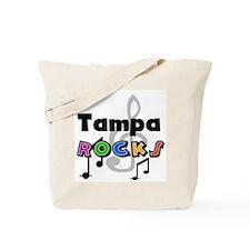 Tampa Rocks Tote Bag