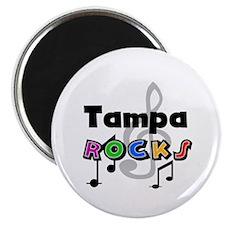 Tampa Rocks Magnet