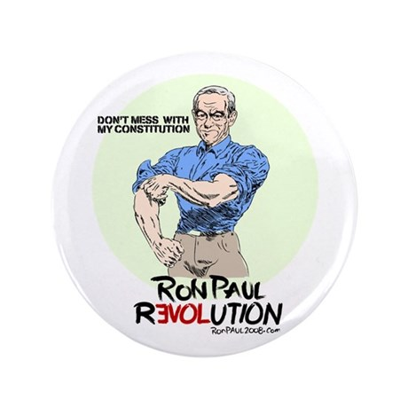 "Ron Paul 3.5"" Button (100 pack)"