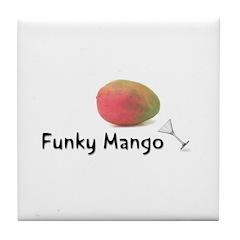 Funky Mango Tile Coaster