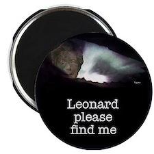 Leonard please find me Magnet