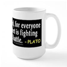 Plato: Be Kind Mug