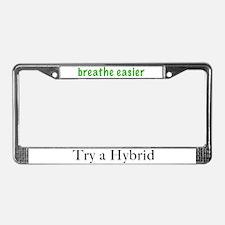 Try A Hybrid License Plate Frame