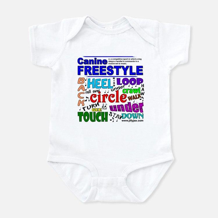 Canine Freestyle Infant Bodysuit