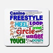 Canine Freestyle Mousepad